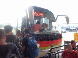 マヤへのバス
